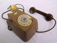 ECCEZIONALE TELEFONO GRIGIO SIEMENS DA PARETE - SIP - ORIGINALE ANNI '70