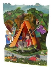 Camping - 3D Swing Card Greeting Card