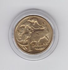 1984 $1 UNC Coin in capsule First Year Issue dollar Coin in Australia F-700