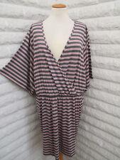 Oversize Tunika Kleid gestreift Shirtkleid streifen Gr 46 48 50 NEU HSE Blogger