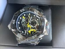 "Invicta 52mm Sea Hunter DC Comics 80 Years Batman ""BRUCE WAYNE"" Black LE Watch"