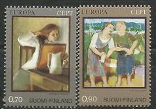 FINLANDIA EUROPA cept 1975 Sin Fijasellos MNH