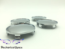 4pcs 68mm Universal Chrome Silver Car Truck Wheel Center Hub Cover Caps For BMW