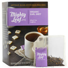 Mighty Leaf Organic Earl Grey Tea 15 Whole Leaf Pouches - Authorized Seller