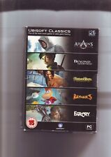 25 YEARS OF UBISOFT - 5 PC GAMES inc ASSASSIN'S CREED, FAR CRY, RAYMAN 3 etc