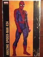 Amazing Spider-Man issue #24 Jusko Variant NM Marvel Now Slott Gage Camuncoli