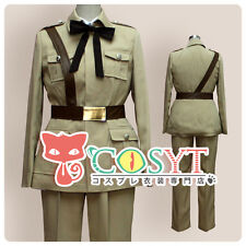 COSYT APH Axis Powers Hetalia Spain Cosplay Military Jacket Full Set Made New