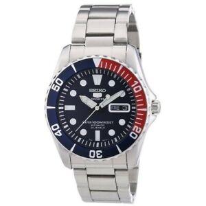 Seiko 5 Sports Pepsi Sea Urchin Automatic Men's Watch