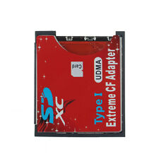 WiFi SD SDHC SDXC To CF Type I Compact Flash Memory Card Adapter Reader New
