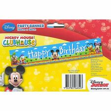 Mickey Mouse Clubhouse Party Banner Decoration