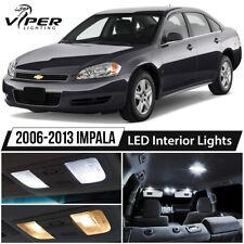 2006-2013 Chevy Impala White LED Interior Lights Package Kit
