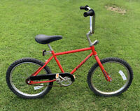 "Vintage Huffy BMX Racing 30 Street/Track Cert Bicycle 14"" Frame 20"" Tires"