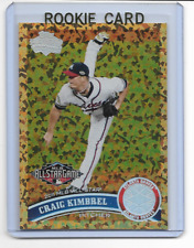 Craig Kimbrel 2011 Topps Update COGNAC Parallel Rookie Card #us143  qty