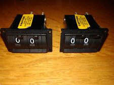 MINILEVER SWITCH  DIGITRAN COUNTER  Model 28-P-584 Tested, working