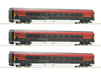 """Roco H0 64191 Wagenset """"Railjet"""" der ÖBB """"mit Italienzulassung"""" 1:87 - NEU + OVP"""