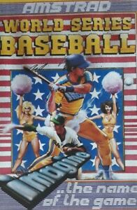 World Series Baseball Amstrad CPC Computer Video Game.1984 Imagine 5013156130120