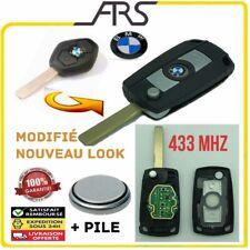 CLÉ TELECOMMANDE MODIFIÉ plip  433Mhz  BMW Serie 3 E46 Série 5 E39 E60 X3 X5 E53