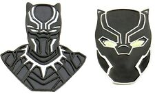 Enamel Set of 2 Pins Black Panther Wakanda King T'Challa Metal