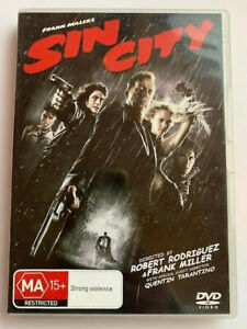 Sin City, 2005, Crime/Thriller, Rated MA, Region 4, VGC, Free Postage