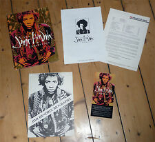 "JIMI HENDRIX ""Exhibition"" compl. 1990 ART Catalogue + 2 Sheet + Postcard etc."