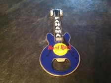 HARD ROCK CAFE BOTTLE OPENER MAGNET.  PANAMA. BLUE.