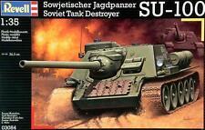 REVELL 1:35  KIT CARRO  ARMATO SOVIET TANK DESTROYER SU 100    ART 03084