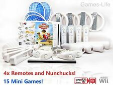 Wii Console 4 PLAYER, 4 Remotes, Sports Packs, 24 GAMES Wii Sports & Play +GIFT!