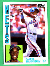 1984 TOPPS METS DARRYL STRAWBERRY ROOKIE RC #182 NRMT-