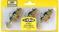 "Big Rock, Storm, 3 Pack, 2"", Wild Eye Live Minnow"