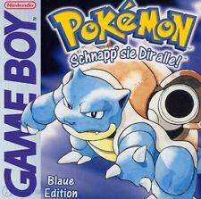 Nintendo GameBoy Spiel - Pokemon Blaue Edition DEUTSCH Modul