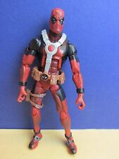 Rare Red Variant Deadpool Action Figure Marvel Legends Universe Epic Heroes s80