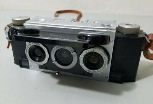 David White Co Stereo Realist Camera Film Vintage *UNTESTED*