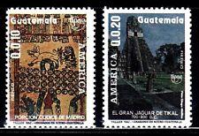 SELLOS GUATEMALA 1989 TEMA AMERICA UPAEP A-829/30 2v.