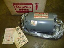 DAYTON AC MOTOR 2N923L  3/4HP 1725/1425RPM 208-220/440V