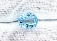 11x9 11mm x 9mm Oval Natural Brazilian Sky Blue Topaz Gem Stone Gemstone EBS149