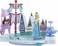 Disney Frozen Elsa Ice Skating Rink Playset Castle Ages 3+ New Toy Play Girls