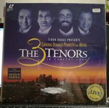 LASER DISC - THE 3 TENORS in concert 1994 -Carreras Domingo Pavarotti DOPPIO SIG