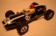 MM SCX SPAIN SCALEXTRIC ALTAYA COCHES MITICOS COOPER CLIMAX F1 No 16 BLACK L. E.