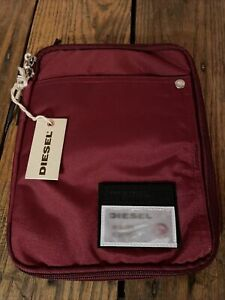 NEW!! DIESEL: iPad/ Tablet / Tech Case, Red, New With Tags