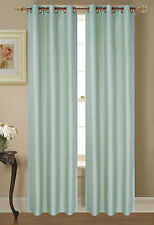 NEW 2 PANEL SOLID BLACKOUT GROMMET WINDOW CURTAIN DRAPES