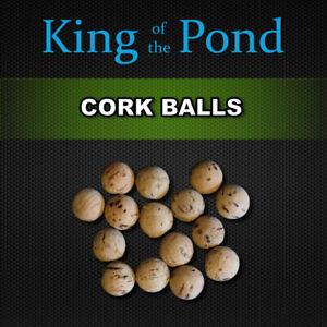 Cork balls 10mm x15 pcs - carp fishing, carp rigs