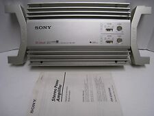 Sony Mobile ES XM-3546 4 channel amplifier Amp box manual Japan Made