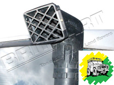 Defender Discovery Safari Snorkel Raised Air Intake SS Stainless Grille DA2374