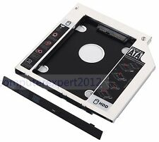 2nd SATA 2.5 Hard Drive HDD SSD Enclosure Caddy for Lenovo IdeaPad Z50-70 B50-70
