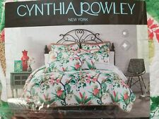 Cynthia Rowley tropical pineapple print full/queen size quilt