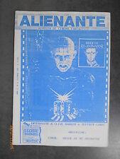 ALIENANTE Anno II n° 6 - Fantascienza - Autoproduzione - 1990 - Cover Blu