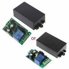 Wireless AC 220V 1CH RF 433MHz Remote Control Switch Module Learning Code Relay