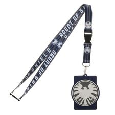 Agents of S.H.I.E.L.D. TV Series Eagle Logo Lanyard with Rubber Logo ID Holder