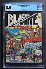 BLACK AND WHITE COMICS #NN ROBERT CRUMB 1973 APEX Underground 1st Print CGC 8.0