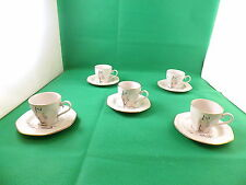 Tognana  Coffee Cups & Saucers x 5